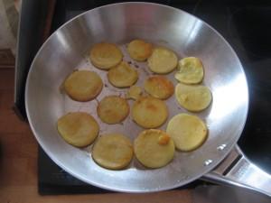 Panisse saisit à la poêle