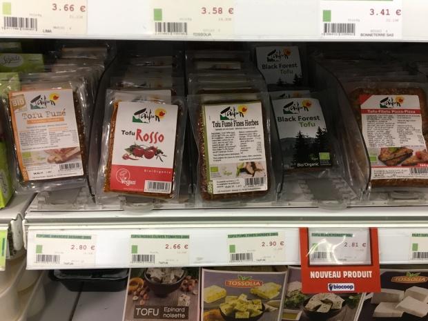 Le tofu préparations à base de soja