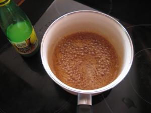Caramel au miel de lavande doré