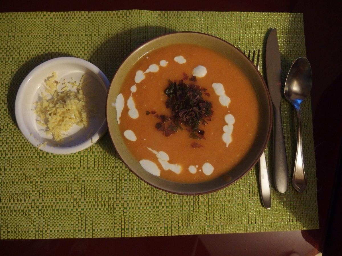Velouté butternut et gingembre