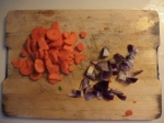 carottes et oignons