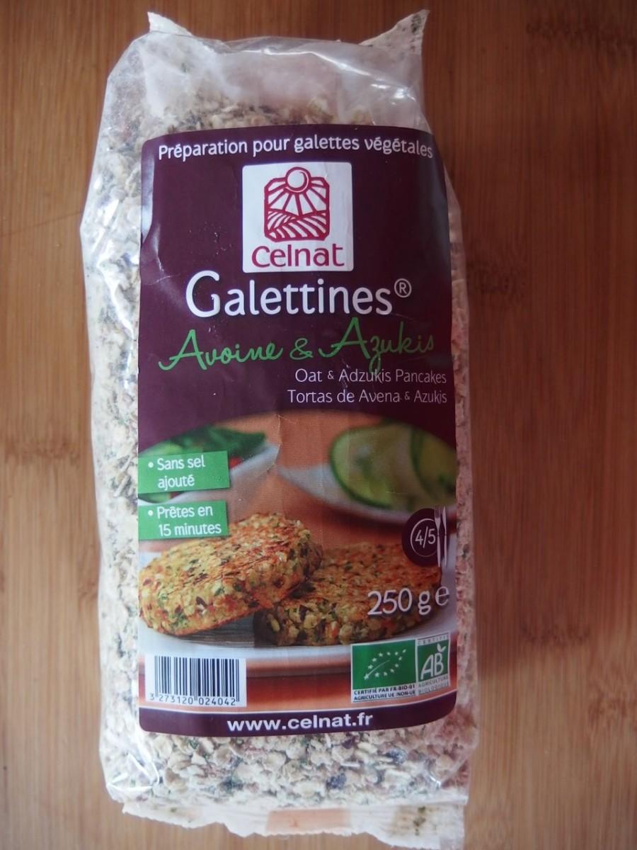 Galettines Celnat Avoine Azukis