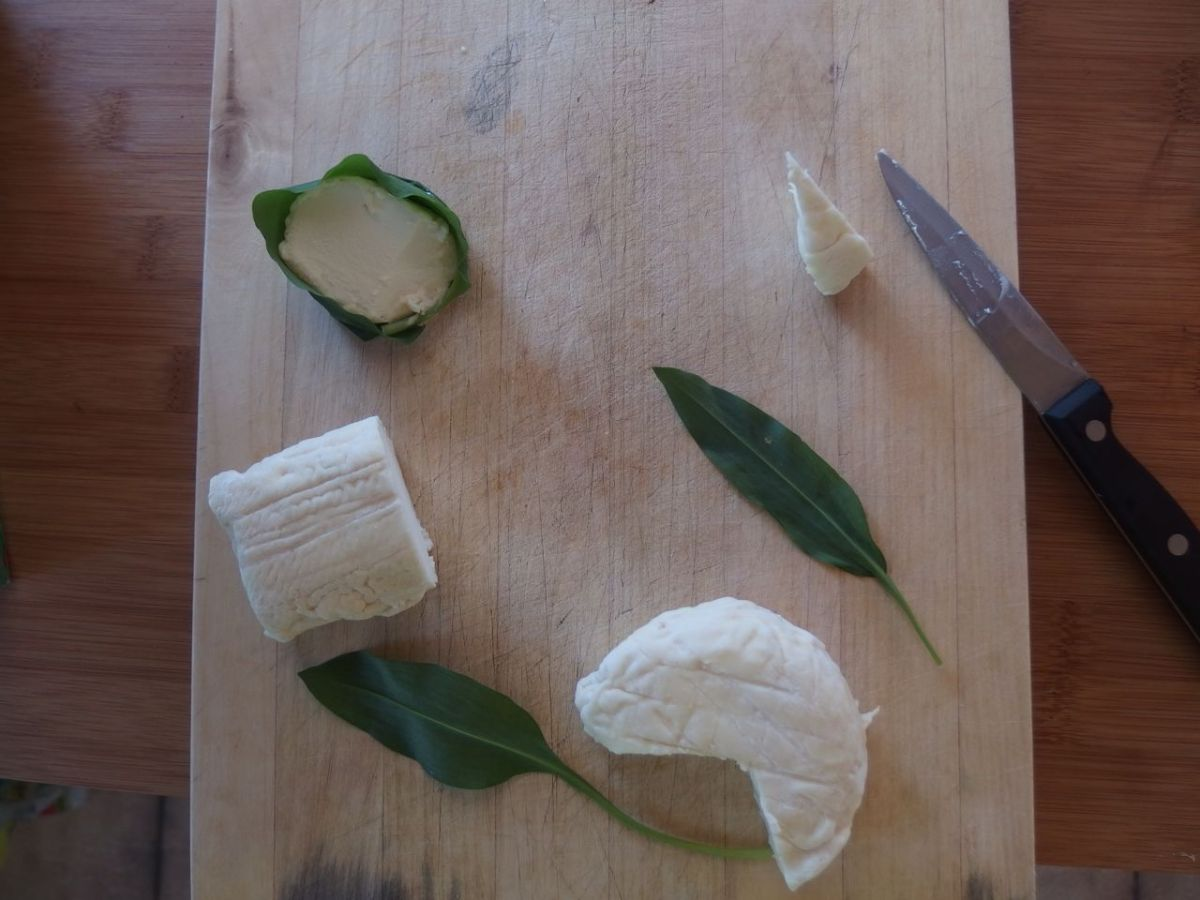 Ail des Ours et fromage