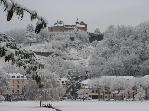URiage en hiver