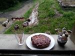 Gâteau à la carotte et chocolat sans gluten