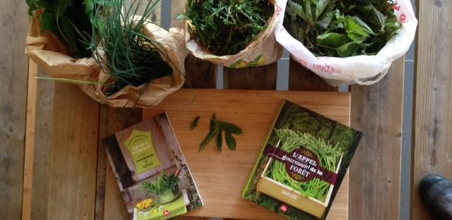 Cours de cuisine de mars cr pes et galettes ou plantes sauvages - Cuisine plantes sauvages ...