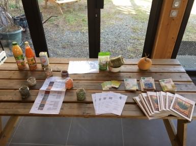 Comite d'entreprise cours de cuisine Bio végétarienne Grenoble Uriage