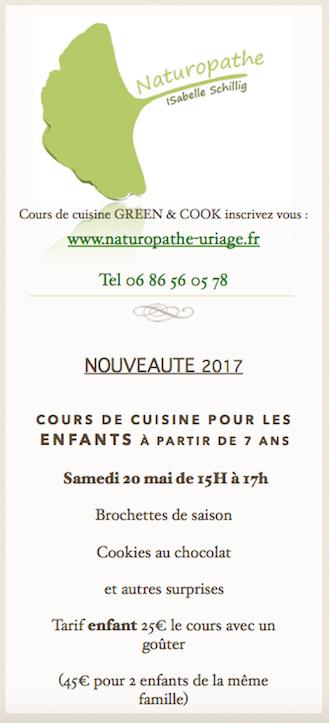 Cours cuisine Enfants 2