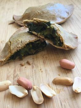 Empanadas légumes et cacahuètes