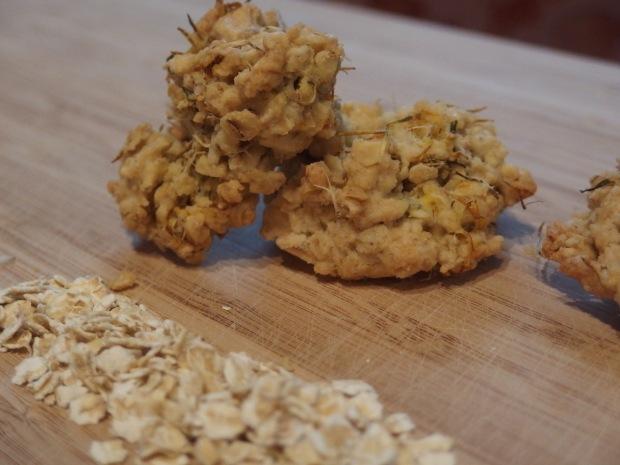 cookies de fleurs de pissenlit