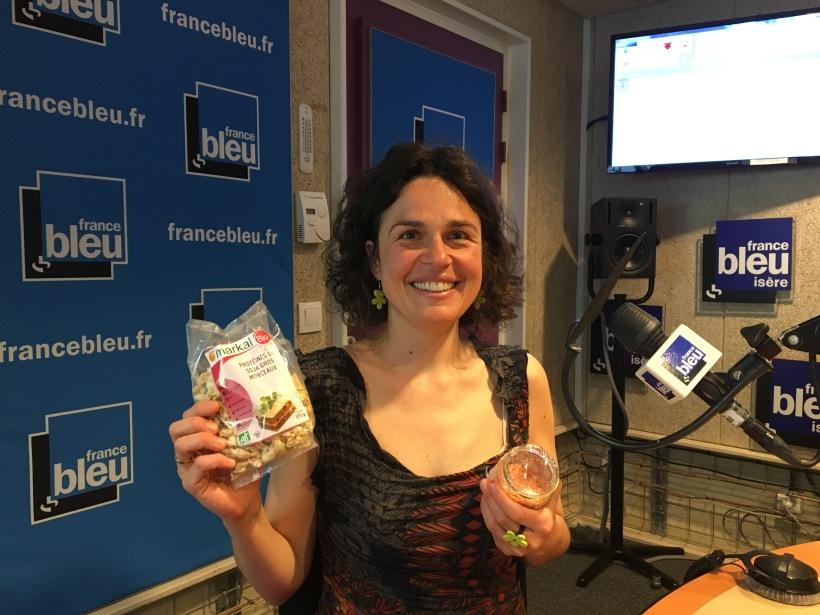 Isabelle Schillig chronique culinaire sur France Bleu Isere