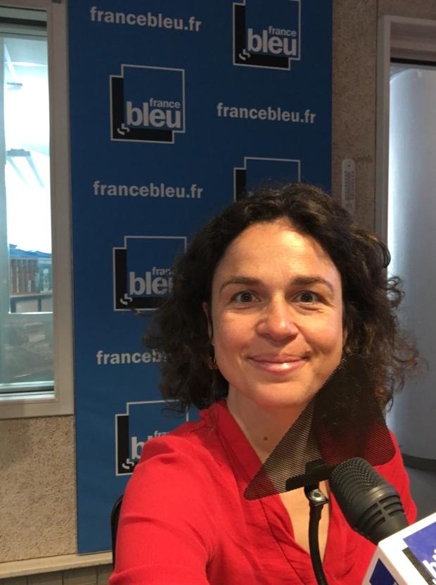 Isabelle Schillig chroniqueuse santé sur France Bleu Isere
