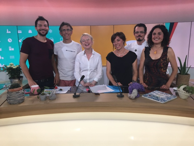 emission sur France 3 avec la Team de chroniqueurs