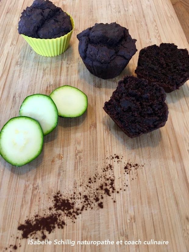 Gateau chocolat à la courgette