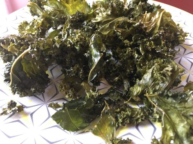 chips de chou kale Isabelle Schillig naturopathe