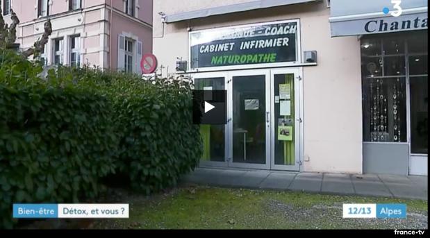 Cabinet de naturopathe Isabelle Schillig sur France 3