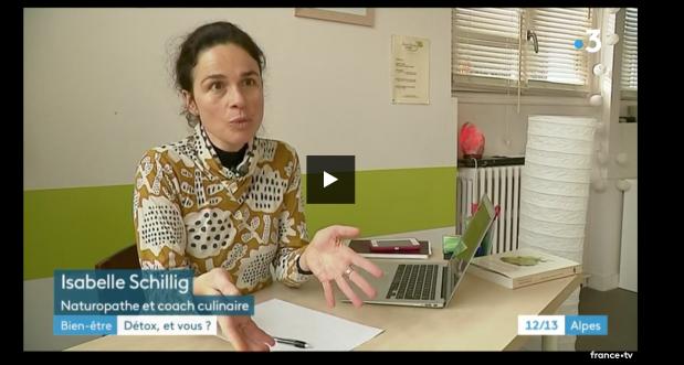 interview pour France3 sur la detox