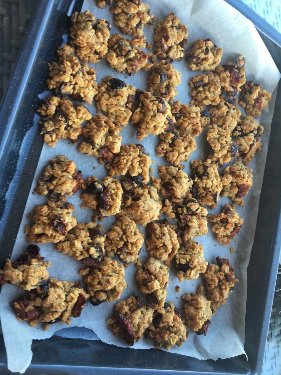 Cookies tomates séchées